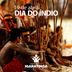 19 de abril: DIA DO ÍNDIO